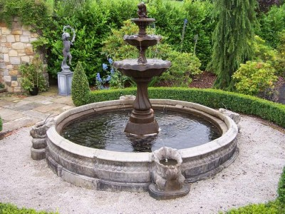 Pond safety cover ireland ornamental garden pond made for Ornamental pond
